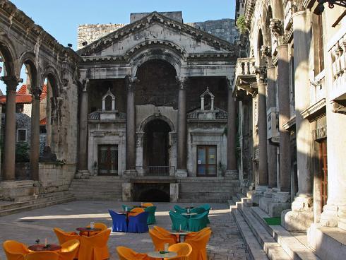 Сплит, исторически комплекс с двореца ...